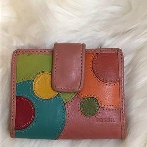 Vintage Fossil wallet   VGUC   Leather